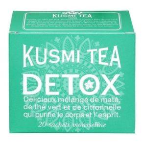 20 Mousselines de thé Detox de chez Kusmi Tea