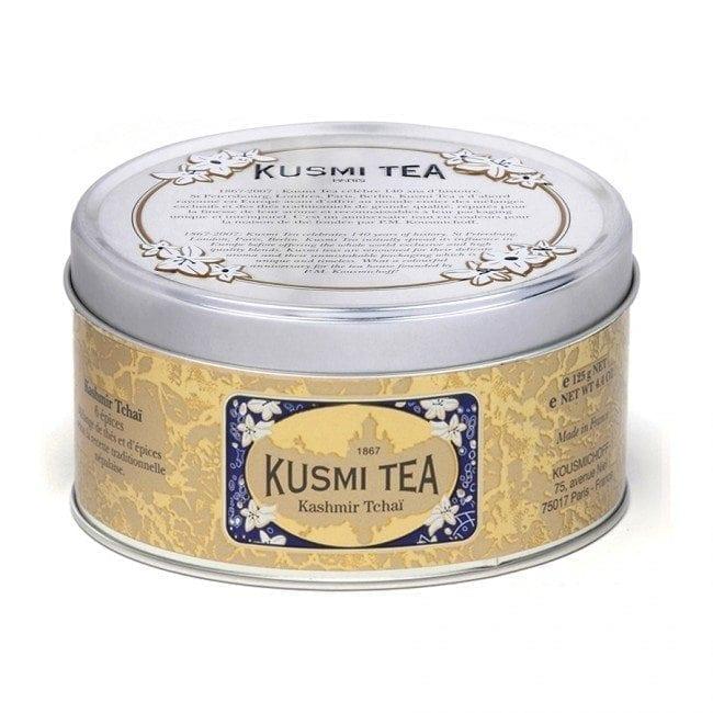 Boite de 125g de Thé Kashmir Tchaï de Kusmi Tea