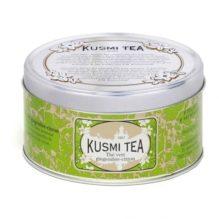 Boite de 125g de Thé Vert au Gingembre et au citron de Kusmi Tea