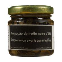 Eurotartufi - Carpaccio de Truffe noire d'ete