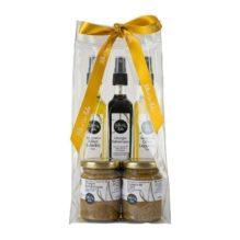 1001huiles - Cadeau, 2 huiles, vinaigre balsamique, 2 moutardes - Epicurieuse, Stockel, Bruxelles, Belgique