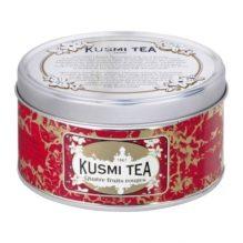 Thé Noir Quatre fruits rouges de Kusmi Tea