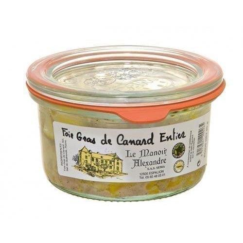 Foie gras de canard entier 90g manoir alexandre l - Quantite foie gras par personne ...