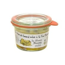 Foie gras de Canard Entier à la fine champagne 50g – Manoir Alexandre