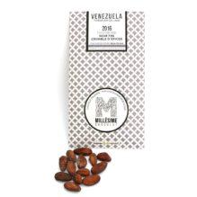 Millésime Chocolat – Venezuela 2016 – Noir 74% – Crumble d'épices