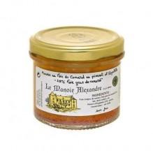 Mousse au Foie de Canard au piment d'Espelette 90g – Manoir Alexandre