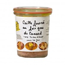 Caille fourrée au foie gras de Canard 130g – Manoir Alexandre