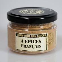 4 épices Français
