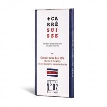 Chocolat extra Noir 75% –Grand cru du Costa Rica- Carré Suisse Recette 02