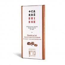 Chocolat au Lait – Pépites de Caramel & Sel de Guérande – Carré Suisse Recette 13