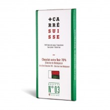 Chocolat extra Noir 70% –Grand Cru de Madagascar- Carré Suisse Recette 03