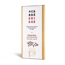 Chocolat Blanc – Eclats brut de fèves de Cacao – Carré Suisse Recette 14