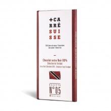 Chocolat extra Noir 80% –Grand Cru de Trinitad- Carré Suisse Recette 05