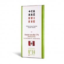 Chocolat extra Noir 77% –Pérou- Carré Suisse Recette 04