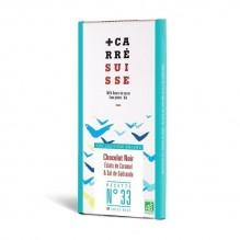 Carré Suisse – Chocolat noir caramel & sel de Guérande bio recette 33