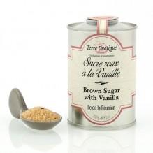 Eclats de sucre roux à la Vanille 250 g