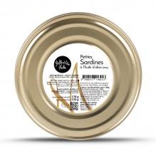 Petites sardines à l'huile d'olive (16 à 20) – 1001 Huiles – 170g