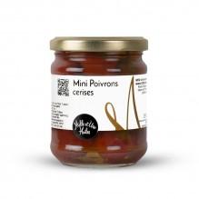 Mini Poivrons Cerise conservés à l'huile – 1001 Huiles – 195g