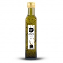 Huile d'olive aromatisée au basilic Biologique – 1001 Huiles – 250ml