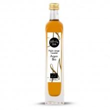 Huile vierge d'argan traditionnel toasté Biologique – 1001 Huiles – 100ml