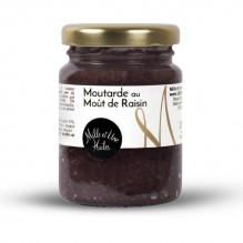Moutarde au moût de raisin – 1001 Huiles – 100g