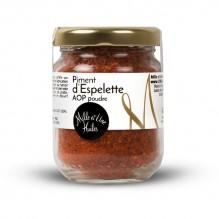 Poudre de piment d'Espelette – 1001 Huiles – 40g