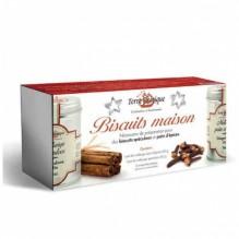 Coffret «Biscuits de Noël» pain d'épices et spéculoos – Terre exotique