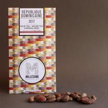 Millésime Chocolat – République Dominicaine – Noisettes noir 75%