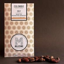 Millésime Chocolat – Colombie – noir 75% Nougatine Amandes