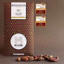 Millésime Chocolat – Madagascar – Lacté 55% praliné