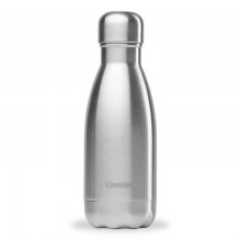 Bouteille isotherme – Inox brossé – 260ml – Qwetch