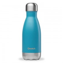 Bouteille isotherme – Bleu turquoise – 260ml – Qwetch