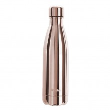 Bouteille isotherme – Metallic – rose gold – 500ml – Qwetch