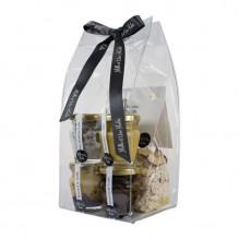 Cadeau à la Truffe – Risotto, fleur de sel, carpaccio, tartufata